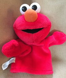 Fisher-price 2004 collectible hand puppet elmo