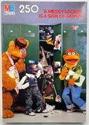 Milton bradley muppet school puzzles copy