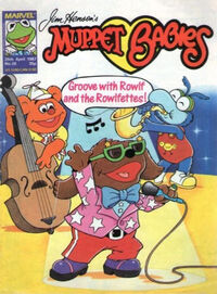 Muppet babies weekly uk 25 april 1987