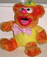 Rainbow toys 1986 baby fozzie plush
