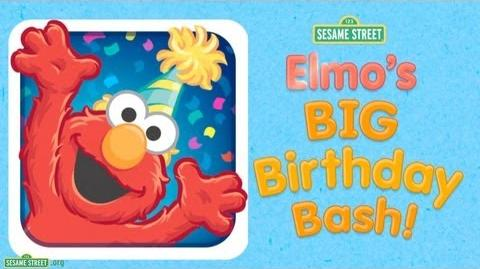 "Sesame Street ""Elmo's Big Birthday Bash!"" App Preview"
