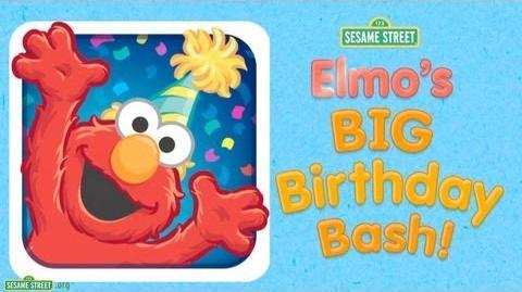 "Sesame Street ""Elmo's Big Birthday Bash!"" App Preview"
