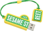 Street-sign USB open