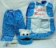 Ben cooper 1979 halloween costume cookie monster 1