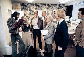 Jim Henson, Wendy Midener, Frank Oz, Irvin Kershner, Stuart Freeborn, Robert Watts, Norma Reynolds
