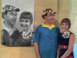 Larry and Phyllis wall picture