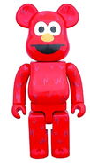 Medicom 2017 elmo 1000 percent bearbrick 28 inch tall