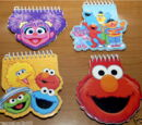 Sesame Street memo pads (Innovative Designs)