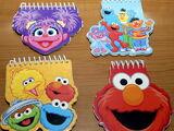 Sesame Street memo pads (Innovative Designs)