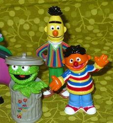 Sesame place 2007 pvc figures set 2