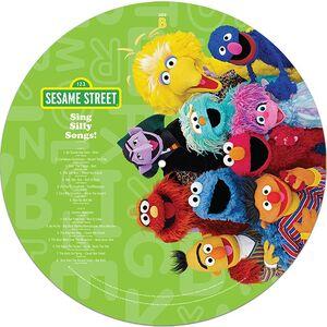 Cracker Barrel vinyl Sing Silly Songs B