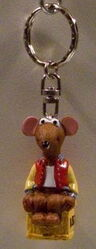 Junior toys igel germany keychain rizzo muppets from space