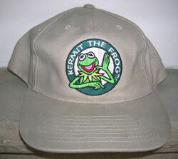 Kermit collection khaki baseball cap 1