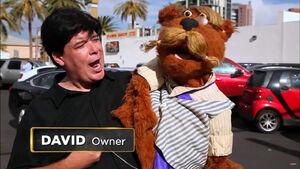 Pawn Stars Rudy Bear puppet