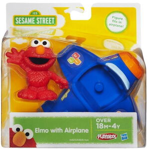 Playskool elmo with airplane 1