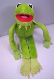 Dakin 1981 kermit beanbag plush doll 14 inch