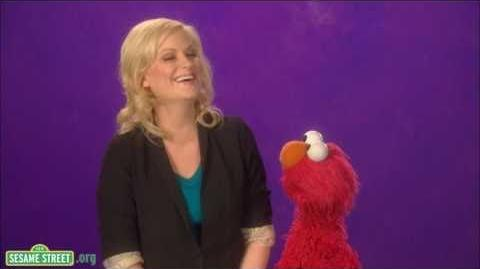 Sesame Street Amy Poehler - Laughing