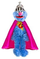 Sesame place plush super grover 17