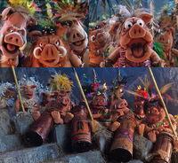 Treasure island boars