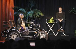 D23 2011 Segel Piggy Kermit motorcycle