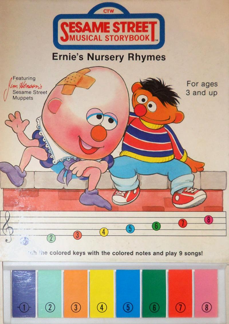 Ernie S Nursery Rhymes Book Jpg