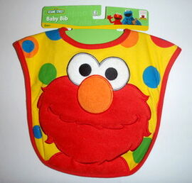 Hamco applique knit terrycloth bib elmo