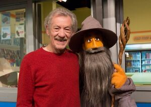Ian McKellan and Gandalf