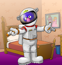 Sesame Street - Dress Grover - Grover as a Astronaut