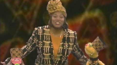 Sesame Street Queen Latifah The Letter O
