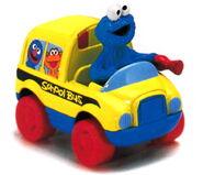 Matchbox cookie monster's school bus