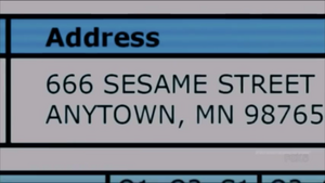 SC 666 Sesame Street