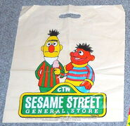 Sesame street general store shopping bags ee