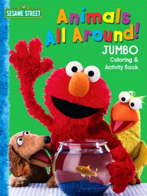 Sesame Street Coloring Books Muppet Wiki Fandom