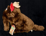 Applause plush christmas snuffy as a reindeer 2