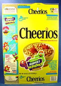 Cheerios muppet workshop box