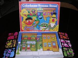 ColorformsSesameStreet