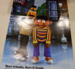 Holiday on ice 1979 poster bert ernie