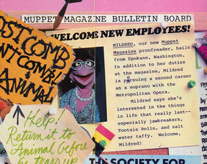 Mildred muppet magazine