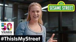 Sesame Street Memory Evan Rachel Wood ThisIsMyStreet