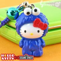 Strapya 2011 mascot hello kitty plastic large cookie monster japan