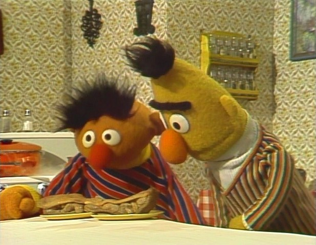 Ernie And Bert S Apartment Muppet Wiki Fandom