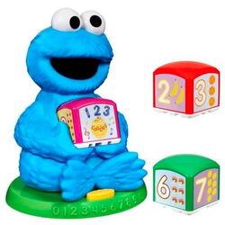 Cookie monster learning blocks