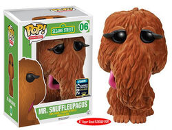 Funko-POP Flocked Snuffy 2015 Summer Convention Exclusive