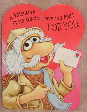 Hallmark 1986 fraggle valentine