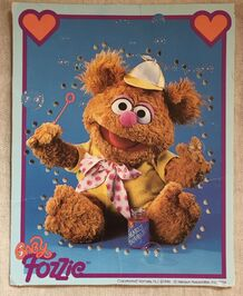 Muppet Babies Sewing Cards Fozzie