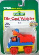 Tyco matchbox 1996 die-cast car ernie dump truck