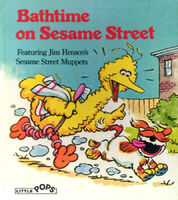 Bathtime on Sesame Street