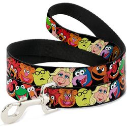 Buckle-down dog leash muppets faces
