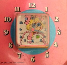 Casio piggy clock