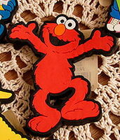 Applause 1997 rubber magnets elmo